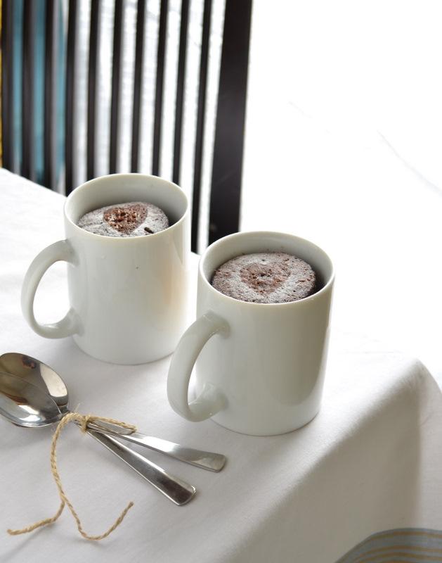 Espresso mug cakes