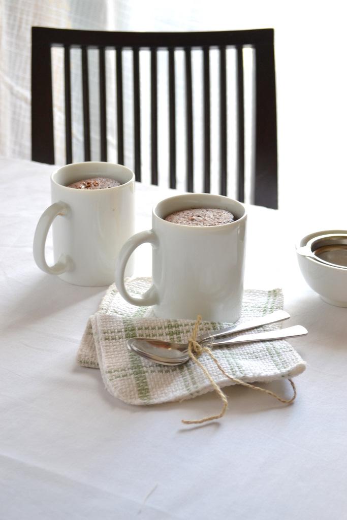 easy espresso mug cakes
