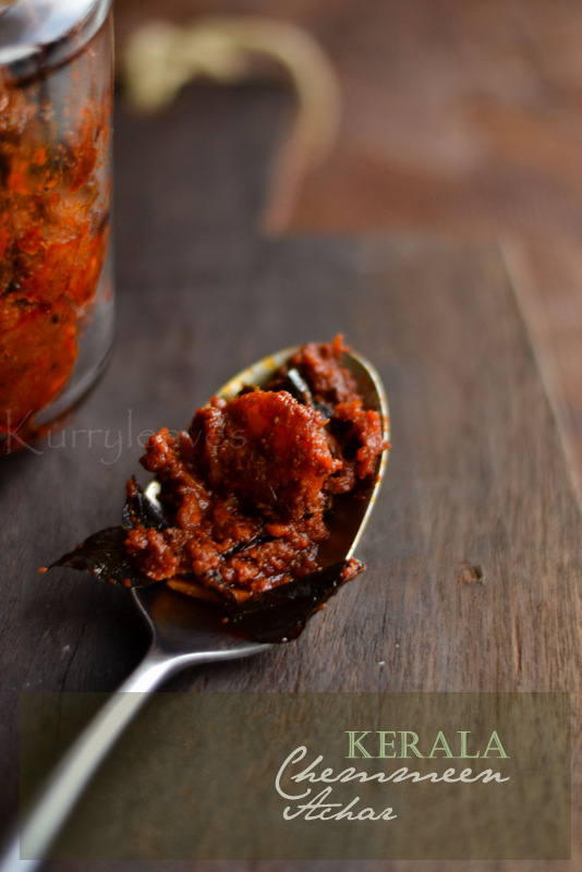 kerala-style-prawn-pickle