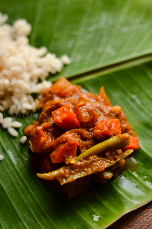 vegetable koottu curry