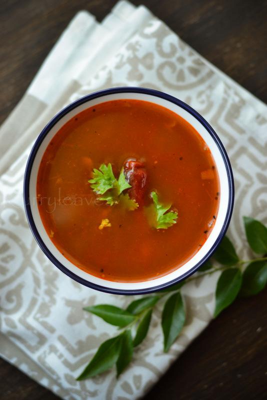 Kerala tomato rasam